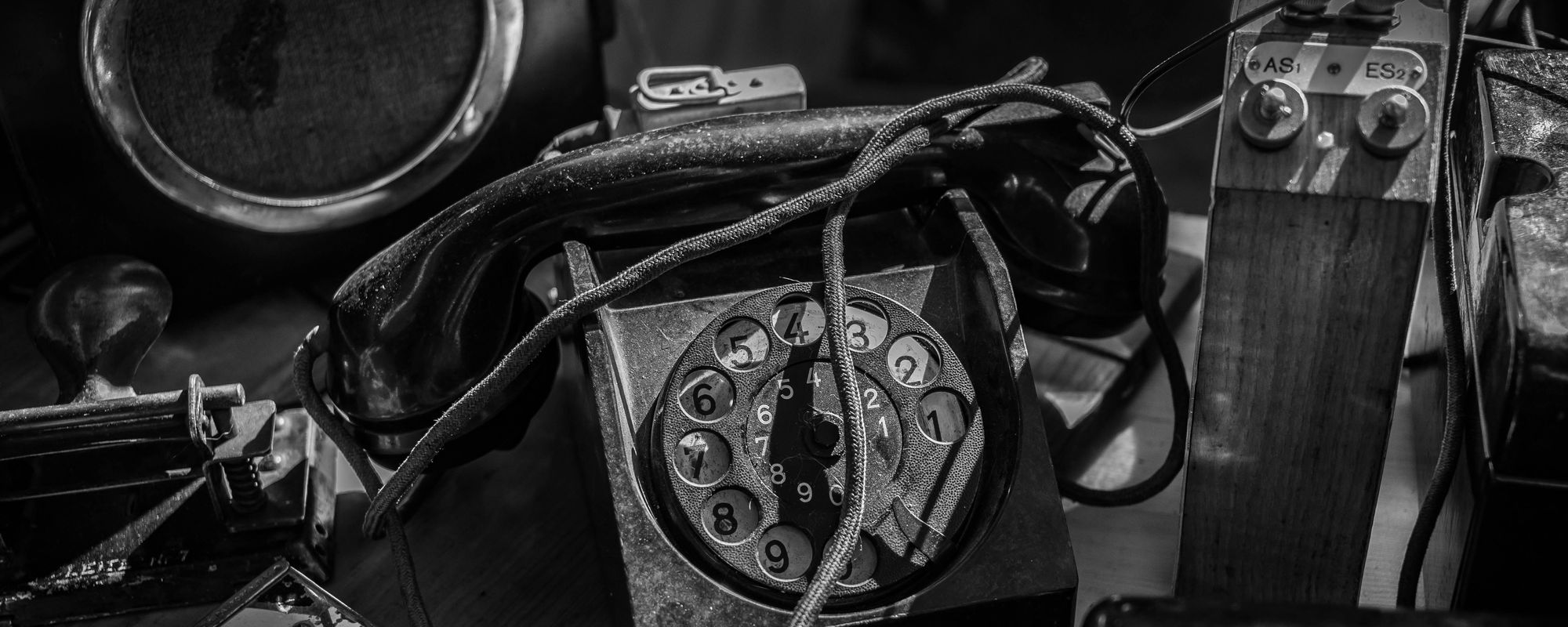 Old analogue phone
