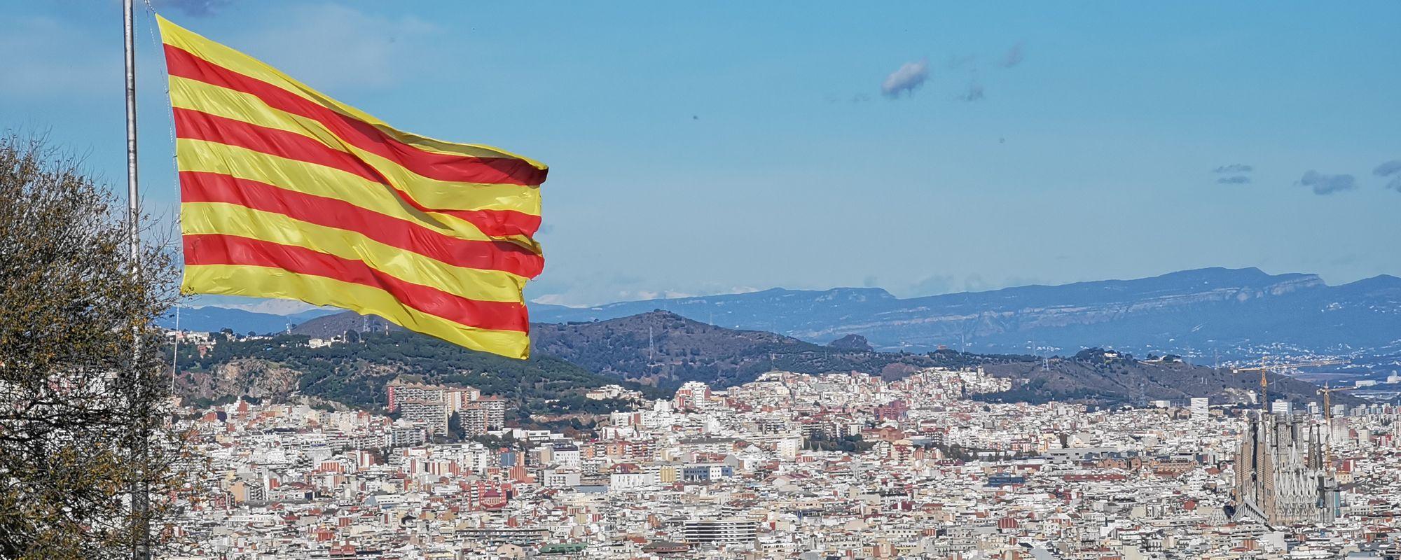 Barcelona, văzută de pe castelul Montjuic
